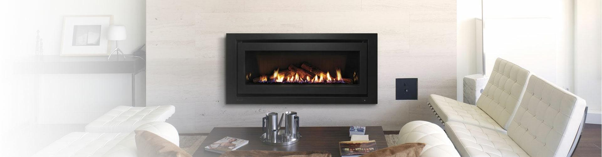 Gas Log Fire