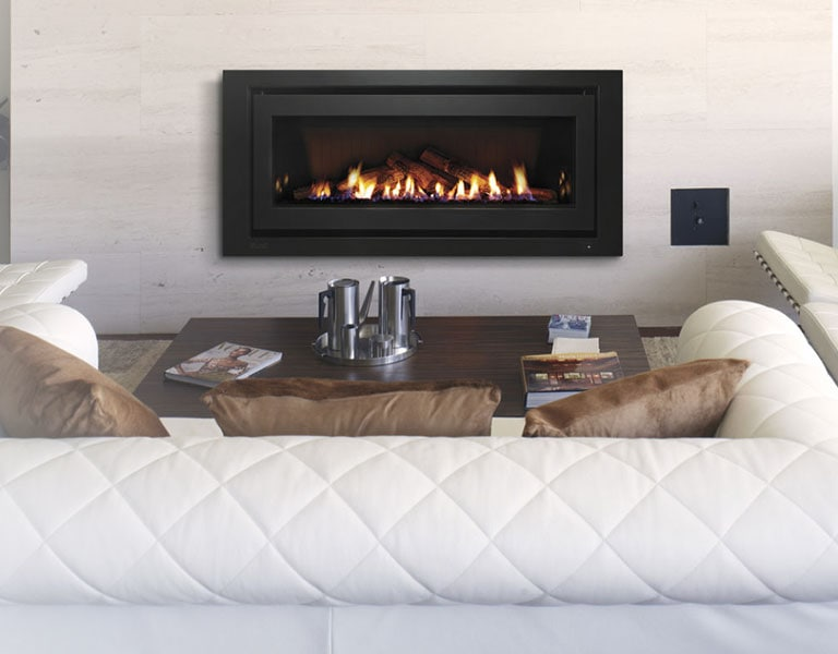 Gas Log Fire Small