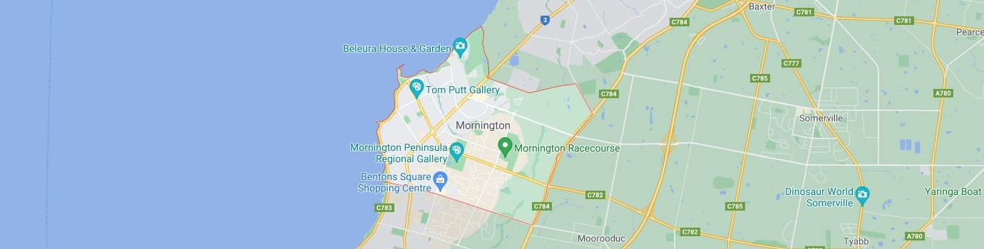 Mornington area map